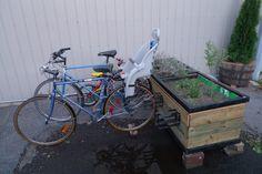 25 Camping + Outdoor IKEA Hacks for Summer Mounted bike racks Pvc Bike Racks, Diy Bike Rack, Bike Storage Rack, Ikea Hacks, Hacks Diy, Best Bike Rack, Urban Furniture, Furniture Plans, Furniture Design