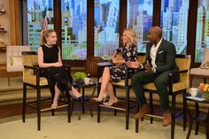 Sabrina Carpenter is scheduled to appear on ABC's LIVE With Kelly on Monday, June 13, 2016.  The Disney actress will be chatting about her upcoming DCOM A