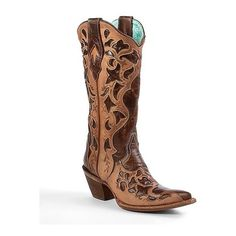 Corral Cut-Out Cowboy Boot ($290) ADORE I just wish they weren't so pointy in the front.