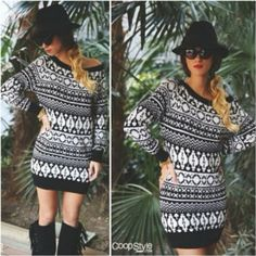 Stunning #ValentinaFradegrada www.coopstyle.com wearing the #Stefanel #FeelMore #jacquard #minidress.