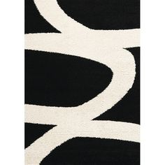 Kalora Maroq Black/White Area Rug