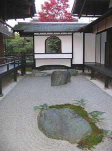 Zen rock garden at Daitokuji, Kyoto.