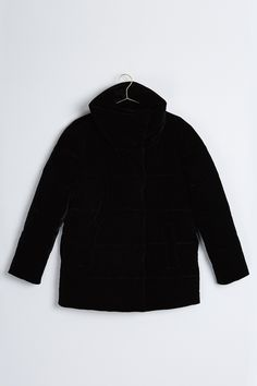 Astrid velvet puffer jacket
