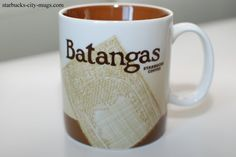 Batangas Starbucks City Mugs, Starbucks Tumbler, Batangas, Tagaytay, Philippines, Coffee Mugs, Tumblers, Tableware, Hipster Stuff
