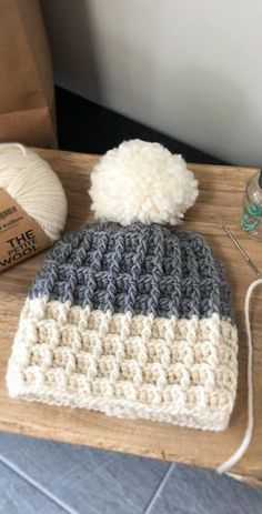 42 Awesome CROCHET HAT PATTERN Image Ideas for new Season 2019 Part crochet hats free pattern; hat crochet pattern free easy hat kids pattern Crochet Circle In Square Blanket - Craft & Patterns Crochet Pattern Free, Crochet Beanie Pattern, Knitting Patterns, Crochet Patterns, Crochet Ideas, Easy Crochet Hat, Knitting Ideas, Crochet Stitches, Crochet Braids
