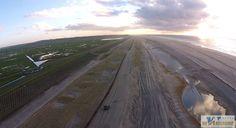 Dronebeelden: Zo ziet het strand van Petten er vanuit de lucht uit - RTVNH