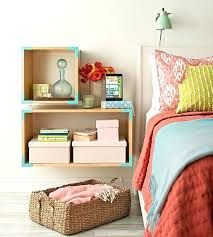 Image result for box shelf as bedside table
