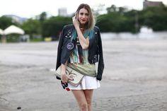 Streetstyle: os looks do dia final do Fashion Rio verão 2014