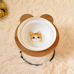 New High-end Pet Bowl Bamboo Shelf Ceramic Feeding and Drinking Bowls for Dogs and Cats Pet Feeder Accessories Unicorn Party Supplies, Baby Shower Party Supplies, Bamboo Shelf, Pet Bowls, Ball Birthday Parties, Pet Feeder, Dog Feeding, Design Your Home, Dog Breeds
