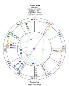 A beginner's guide to the parts of the birth chart. Page 1 of 7.