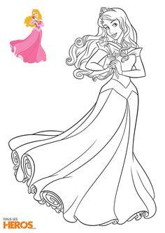 Cette semaine, Tous les Héros vous propose d'imprimer 5 nouveaux coloriages Disney Princesses : retrouvez Raiponce, Blanche-Neige, Cendrillon, Aurore et Belle !