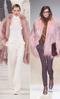Fall 2014 Trend: Pink Fur Outerwear