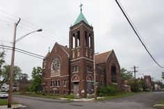 St. Thomas Lutheran Church, summer of 2010.  How in the world did someone steal the entire window??