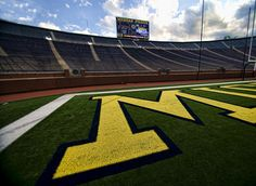 Michigan Stadium // Big House. View from the South end zone.