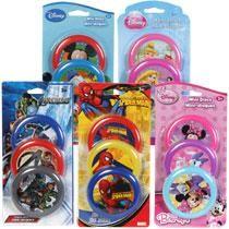 Bulk Disney Mini Flying Discs, 3-ct. Packs at DollarTree.com - Avengers favors