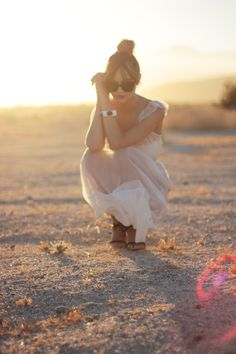This desert shoot is just incredible.click through to check out more of the shoot.
