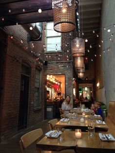 Rose's Luxury in Washington DC, D.C.  No reservations but worth the wait. Some of the best food I've ever had. Fresh and local. Brisket was to die for. Chefs are extremely friendly and atmosphere is great. Pretty pricy. Special occasion place :)