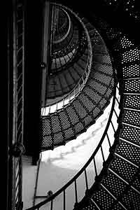 #Stairs of Bodie Lighthouse, NC