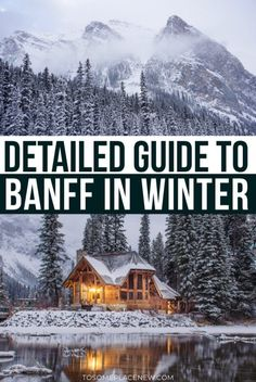 Banff Winter Activities | Banff winter things to do | Banff Winter Alberta Canada | Banff Winter sleigh rides, dogsledding | Banff Winter Activities lakes frozen and national parks | Banff Winter Activities bucketlist items | Things to do in Banff Winter | Banff Travel tips #banff #winter #canadatravel #canada