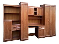 Kajtek II meblościanka z biurkiem, szafami, szafkami wys. 2,1m