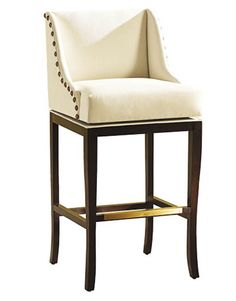 Marcello, maple frame, upholstered seat, from $349. Ballard Designs: 800-367-2775; ballarddesigns.com.   - HouseBeautiful.com