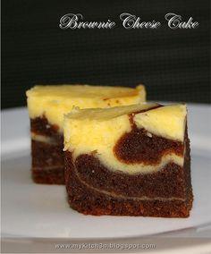 Brownie Cheese Cake by Lydia's Corner, via Flickr