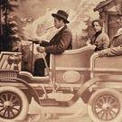 El automóvil (1885) La invención y el desarrollo de la máquina de vapor ya había transformado la industria, la economía y las sociedades a grandes rasgos, sin embargo, la del automóvil lo hizo aún más, transformando la vida de muchísimas personas. Aunque la idea de un vehículo personal capaz de transportar a la gente ya existía desde hacía un largo tiempo, el Motorwagen de Karl Benz, inventado en 1885, es considerado el primer automóvil.