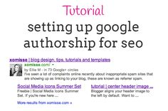 Blog Tips | How to Set up Google Authorship, claim your content and benefit from SEO