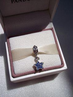 Authentic Pandora Blue Pave Star CZ Bracelet by JEWELSELAGANT, $35.00