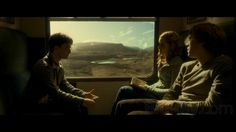 Love the colour grading in the Half-Blood Prince move. Everything is coloured over with this warm brown tone.
