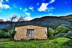Old barn located on Ejido Piedra Blanca, Arteaga, Coahuila, México