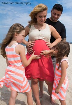 Pregnancy Photoshoot captured by Lara Lux Photography in NJ.  Check out www.laralux.com to book your shoot today!  Serving NJ, NY, Pennsylvania, and Connecticut. #FamilyPortrait #PregnancyPhotoshoot #bellypictures #LaraLuxPhotography #beach #ocean
