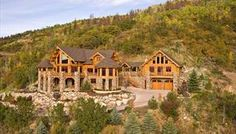 The House Designers - Ultimate Log Home | Dream Homes | Pinterest ...