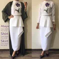 my dresses Abaya Fashion, Muslim Fashion, Islamic Fashion, Fashion Dresses, Hijab Hipster, Hijab Dress, Hijab Outfit, Dress Skirt, Black Abaya