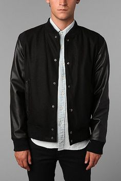 Your Neighbors Asaghatan Varsity Jacket  Should have bought it. :*(
