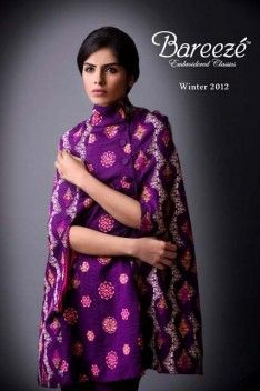 Bareeze casul party wearWinter Collection 2012-2013 for Women