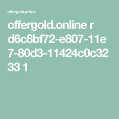 offergold.online r d6c8bf72-e807-11e7-80d3-11424c0c3233 1