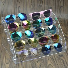 Clear Acrylic Makeup Organizer Storage Box 5 Layers Nail Polish Display Rack Lipstick Glasses display rack Jewelry Stand Holder-in Jewelry Packaging & Display from Jewelry & Accessories on Aliexpress.com | Alibaba Group