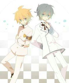 Len and Kaito (vocaloid)