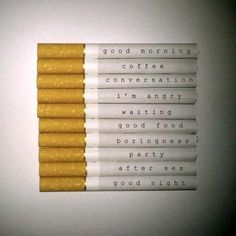 all your day in cigarettes