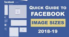 Read QUICK GUIDE ON FACEBOOK IMAGE SIZES 2018-19. #SMO #SocialMediaOptimization #DigitalMarketing #SocialMedia #FacebookMarketing #Facebook