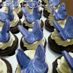 Cupcake borboletas lilas!