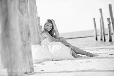 Beach trash the dress - I have to convince Cynthia to get sandy!