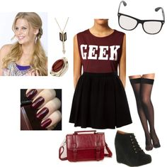 """""""Geek Chic"""" by girlinthesteelcorset ❤ liked on Polyvore"""