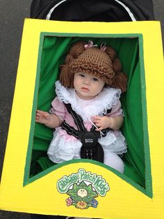 Cabbage Patch Hat by ThePrimitiveCraftCo on Etsy, $25.00 Sooooo cute!  Love this photo!  hahahaha