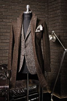 Wool and tweed - layering texture and tones for winter