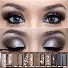 Different Eyeshadow Tutorials Using The Naked Palette