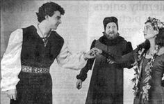 Years ago, Tom Fulton and Andrew May formed Cleveland Theatre Company. This production of Hamlet (starring Andrew as the Melancholy Dane - left in this pic with Wayne Turney and Molly Renfroe) was it's precursor. Andrew was SPECTACULAR, and I know none of us realized what a treasure we had until he left town a few years back. 4-1/2 hours on hard wooden chairs & I never batted an eye! Amazing!