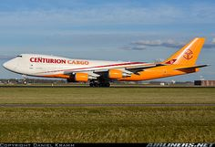 Photo taken at Amsterdam - Schiphol (AMS / EHAM) in Netherlands on April Cargo Aircraft, Air Photo, Cargo Airlines, Aircraft Pictures, Boeing 747, Planes, Netherlands, Amsterdam, Airplanes