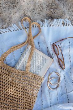Diy Sac, Crochet Handbags, Crochet Bags, Crochet Market Bag, Crochet Purses, Knitted Bags, Diy Crochet, Summer Feeling, Summer Aesthetic